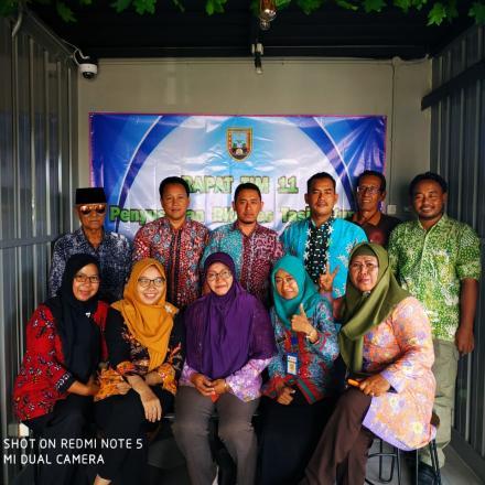 RAPAT TIM 11 PENYUSUNAN RKPDes Tahun 2020